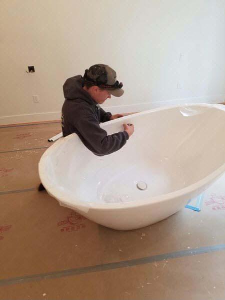 Residential Bathtub Installation in Vancouver, WA